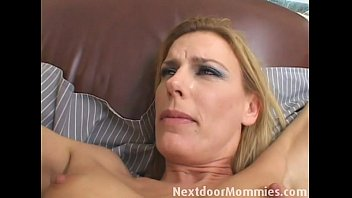 puremature com Blonde mom fingered and ass fucked